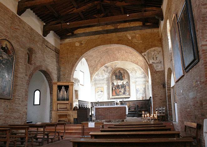chiesa delle sante flora e lucilla